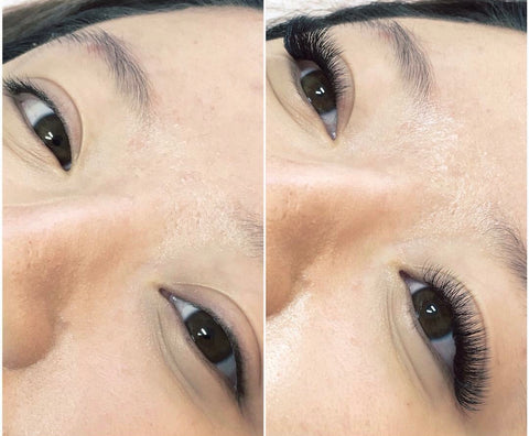 Wedding lash extensions at Tham Vo Studio Melbourne