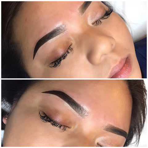 Ombre brows are the all the talks now! Book your appointment with Tham Vo Studio Melbourne for that define brow shape