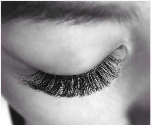 Volume lash extensions at Tham Vo Studio Melbourne