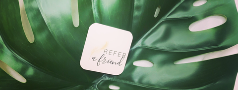 Referable program, refer a friend and reap the rewards