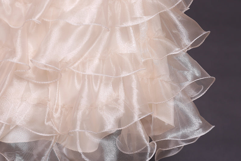 Girl Prom Dress Trailing Princess Skirt Flower Girl Dress