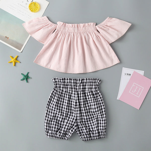 113 PCS Clearance & Closeout Specials Baby Girls Short Sleeve Summer Suit Boutique Baby Clothes Wholesale