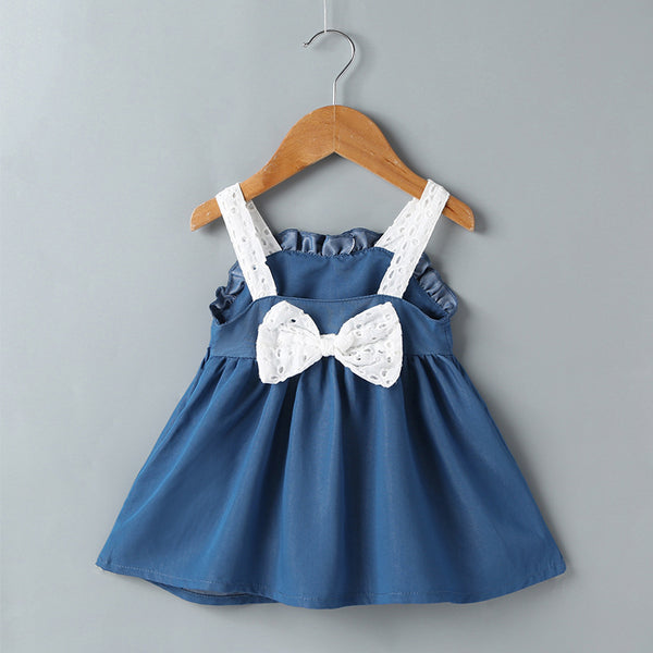 128PCS Clearance & Closeout Specials Baby Girls Fashion Suspender Dress Baby Summer Dress