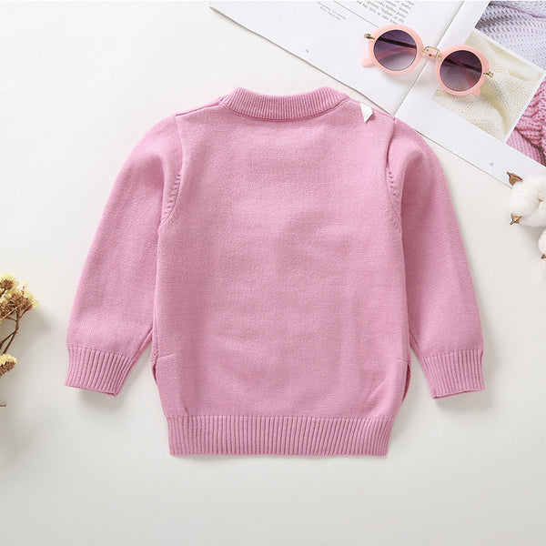 13PCS No Profit On Sale Clearance & Closeout Specials Girls Ball Crown Long Sleeve Sweaters childrens wholesale