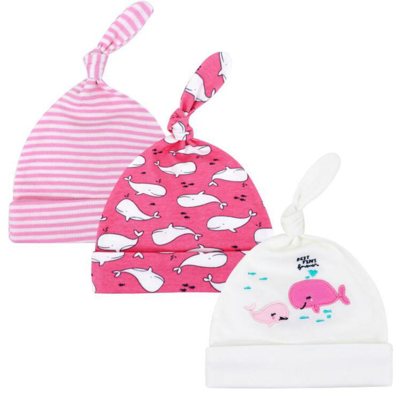 Three Piece Cotton Cap For Boys And Girls Children'S Boutique Wholesale
