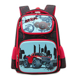 2PCS Spine Protecting And Load Reducing Cartoon Schoolbag Children's Bags Wholesale
