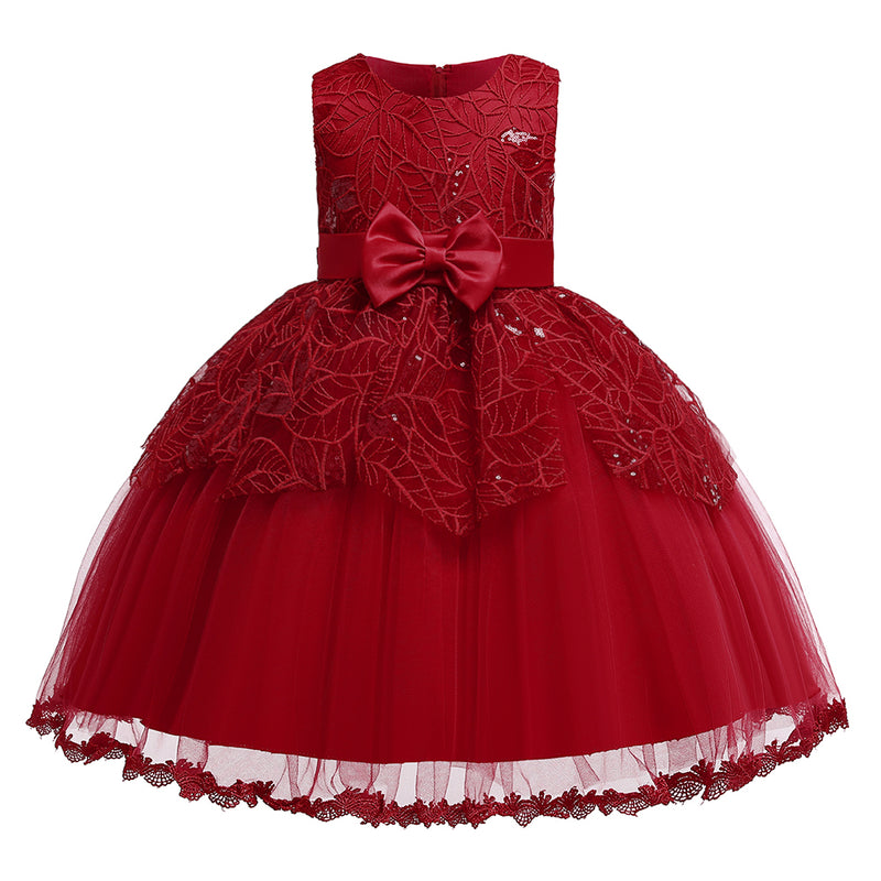 Little Girl Prom Princess Dress Girl Catwalk Performance Dress