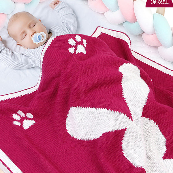 Baby 3D Rabbit Animal Printed Cute Baby Blankets Wholesale