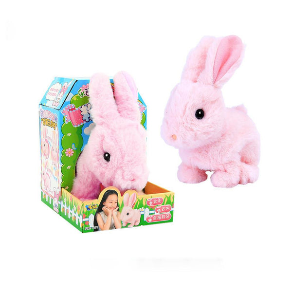 3PCS Jumping Bunny Children's Cute Electric Simulation Rabbit Toys Childrens Accessories Wholesale