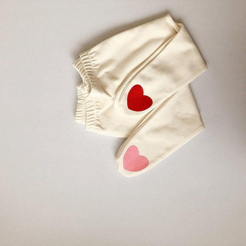 3PCS Pantyhose For 0-1 Years Old Baby Girls Ins Love Pattern Cotton Socks Kids Accessories Wholesale