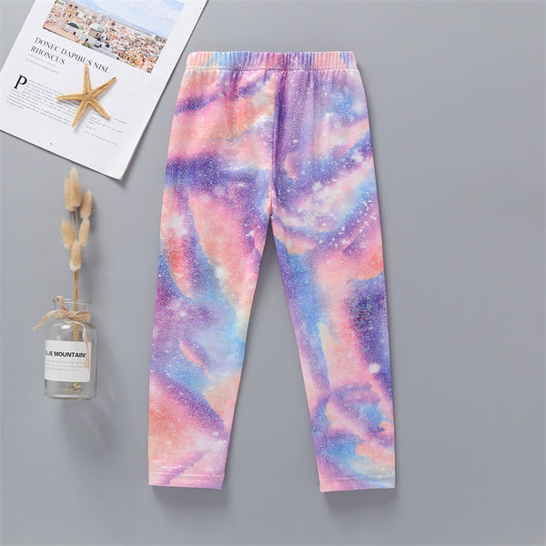 50PCS No Profit On Sale Clearance & Closeout Specials Girls Tie Dye Pants wholesale children's boutique clothing suppliers usa