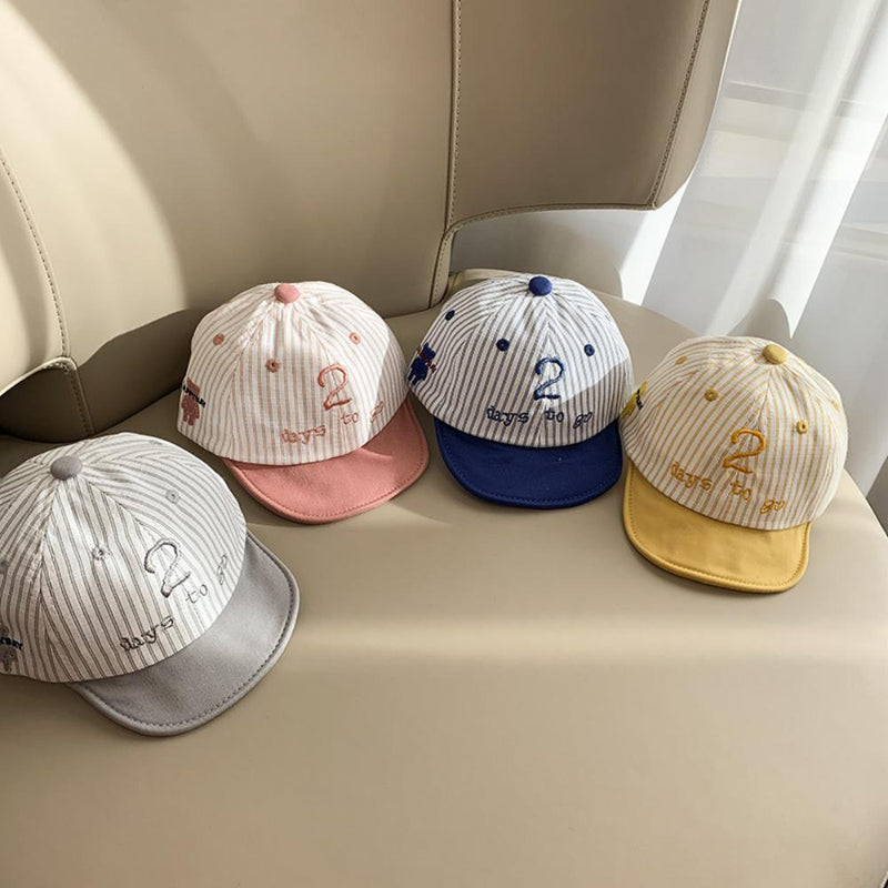5PCS Baby Sunhat For 6-20 M Kids Thin Lovely Baseball Cap Baby Accessories Wholesale