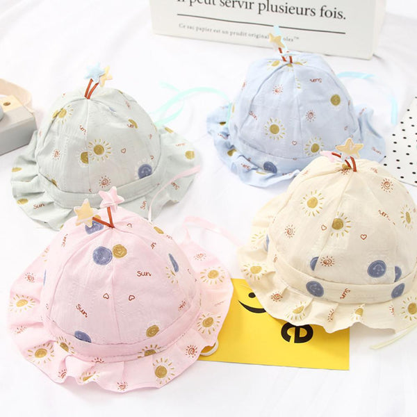 5PCS Cute Fisherman Hat For Toddler Baby Wholesale Childrens Hats