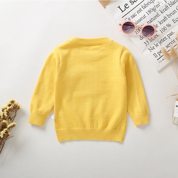 66PCS No Profit On Sale Clearance & Closeout Specials Girls Candy Long Sleeve Knitted Sweater wholesale girls clothes