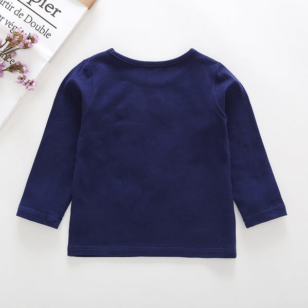 8PCS No Profit On Sale Clearance & Closeout Specials Girls Long Sleeve Butterfly Top Wholesale Girls