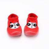 Baby Animal Printed Knitted Soft Sock Flats
