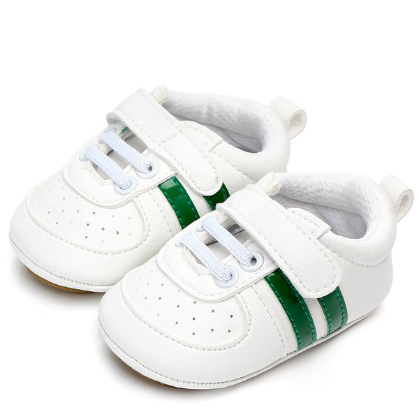 Baby Artificial Leather Magic Tape Toddler Sneakers