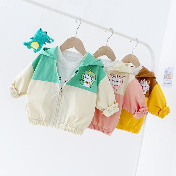 Baby Girls Long Sleeve Hooded Casual Jacket Christmas Baby Clothes