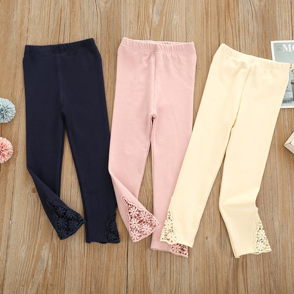 Baby Girls Solid Color Leggings Buy Children Clothes Wholesale