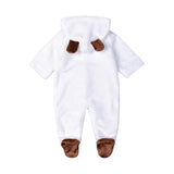 Unisex Bear Cute Long Sleeve Rompers
