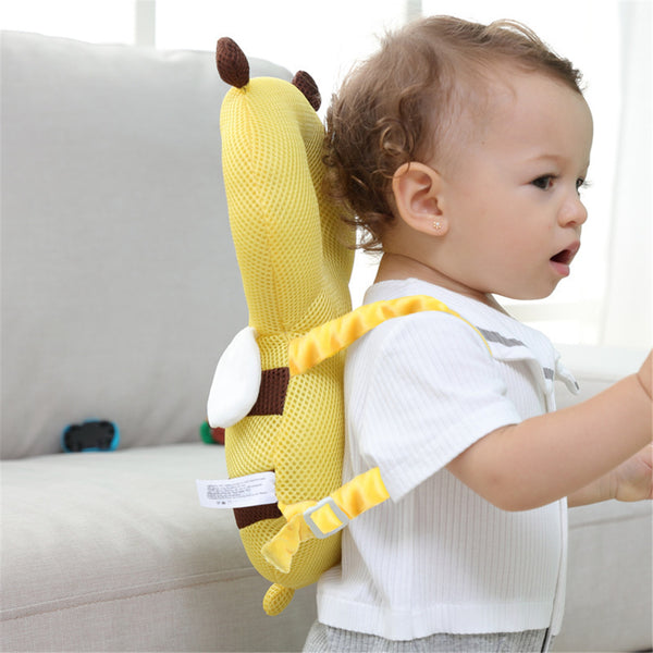 3PCS Baby Bee Shape Striped Head Protection Headrest Safety Backpack Cushion Baby Accessories Wholesale
