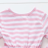 Baby Girls Bow Long Sleeve Mesh Dress