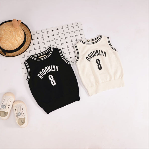 Boys Brooklyn Eight Pattern Sleeveless Knitting Vest Wholesale Toddler Boy Clothes