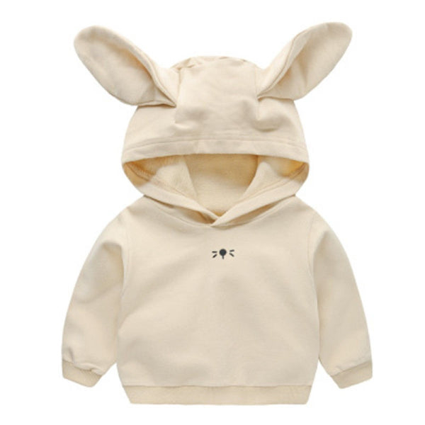 Boys Bunny Ears Hooded Top Boy Clothing Wholesale