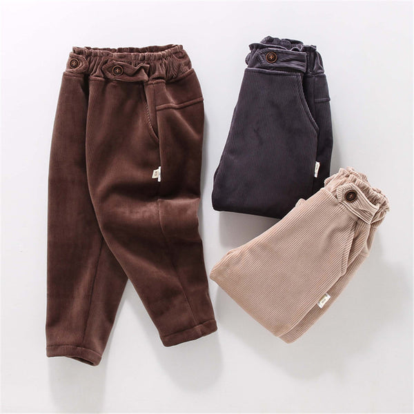 Boys Casual Solid Color Pants Wholesale Boys Clothes