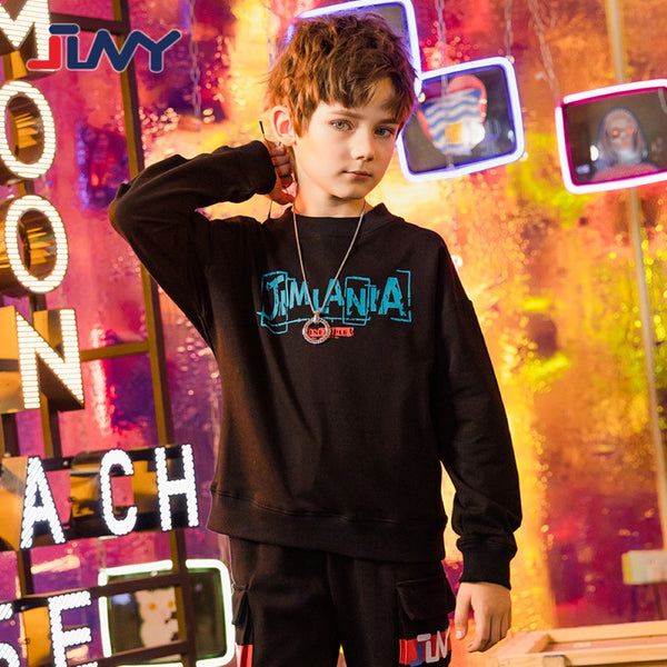Boys Long Sleeve Letter Printed Shirt Boy Clothes Wholesale