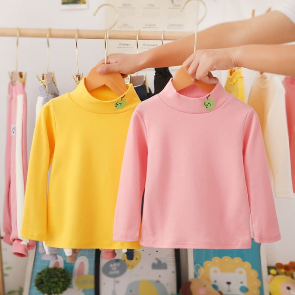 Boys Solid Color Long Sleeve Top Little Boys Wholesale Clothing