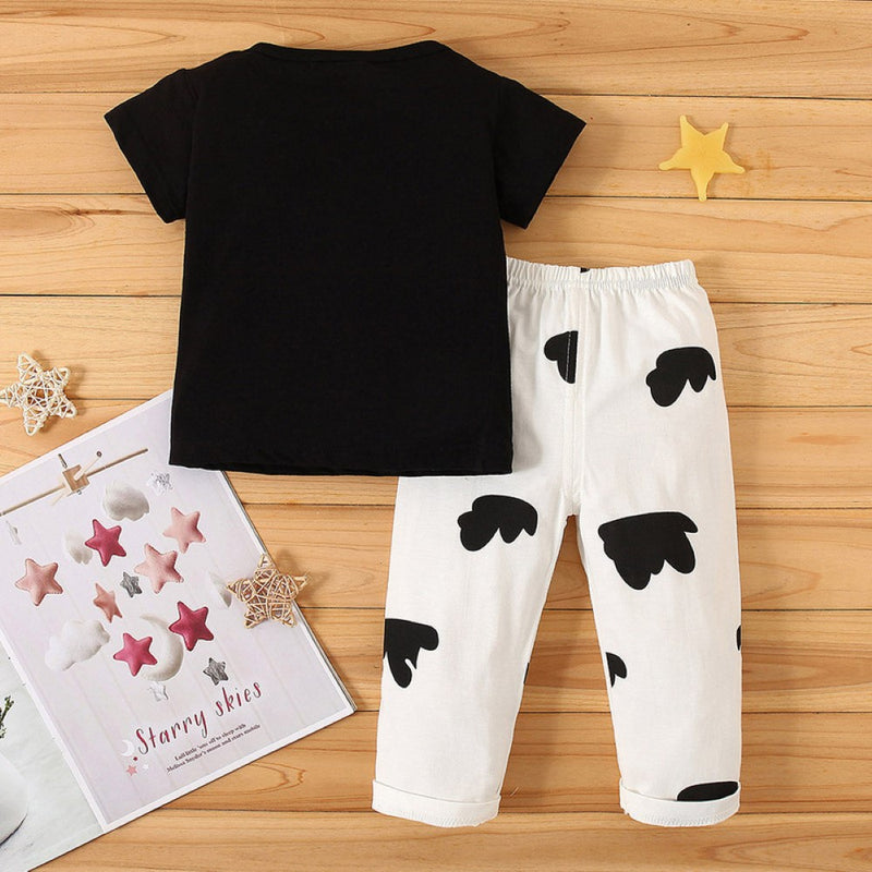 Boys Summer Baby Boy Printed Short Sleeve T-Shirt & Shorts Baby Clothes Wholesale Bulk