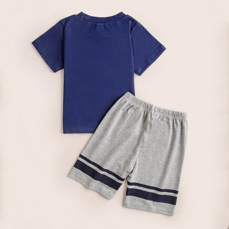 Boys Summer Boys' Car Printed Short Sleeve T-Shirt & Pants Buy Childrens Clothes Wholesale