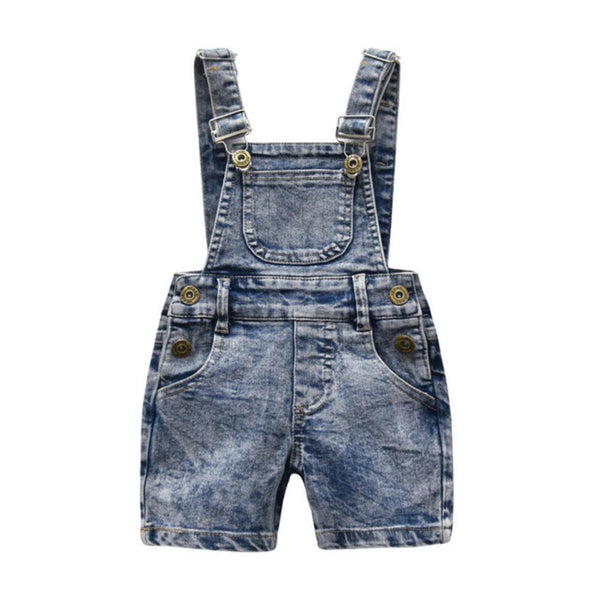 Boys Summer Boys' Denim Jumpsuit Wholesale Boy Boutique Clothes