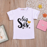Boys Summer Boys' Letter Printed Round Neck Short Sleeve T-Shirt Little Boy T Shirts