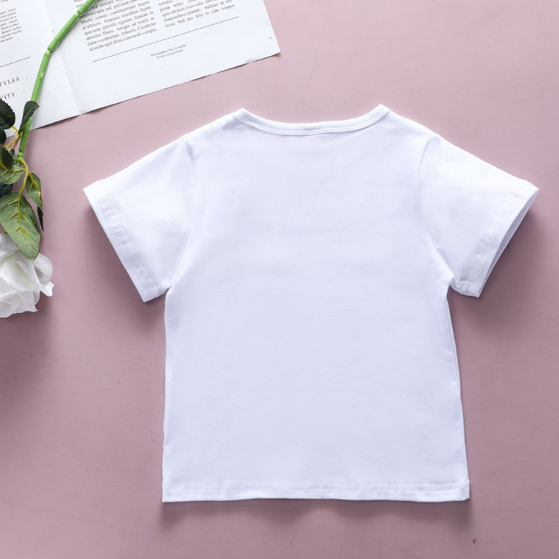 Boys Summer Boys' Letter Printed Short Sleeve T-Shirt Wholesale Boy Clothes