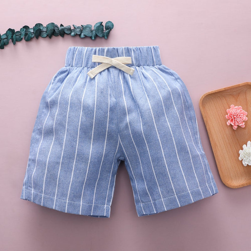 Boys Summer Boys' Striped Casual Pants Wholesale Kidswear