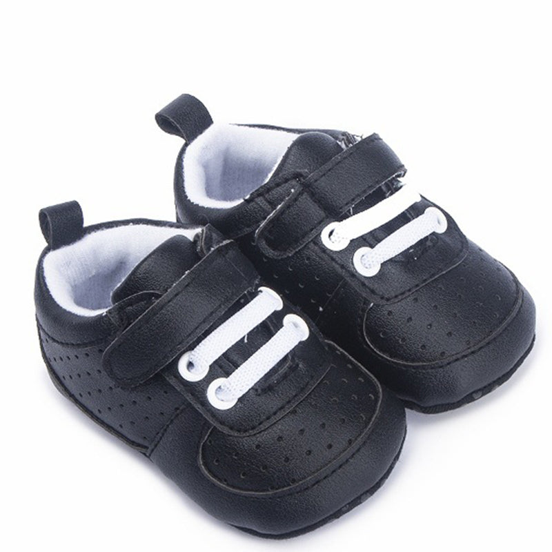 Baby Unisex Breathable Magic Tape Hollow Out Sneakers