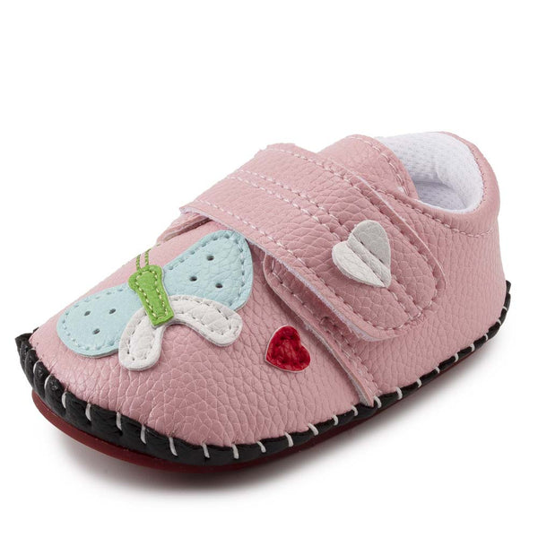 Baby Girls Butterfly Cartoon Soft Flat Shoes