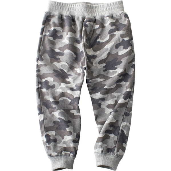 Boys Camo Elastic Waist Pants Wholesale Childrens Clothing
