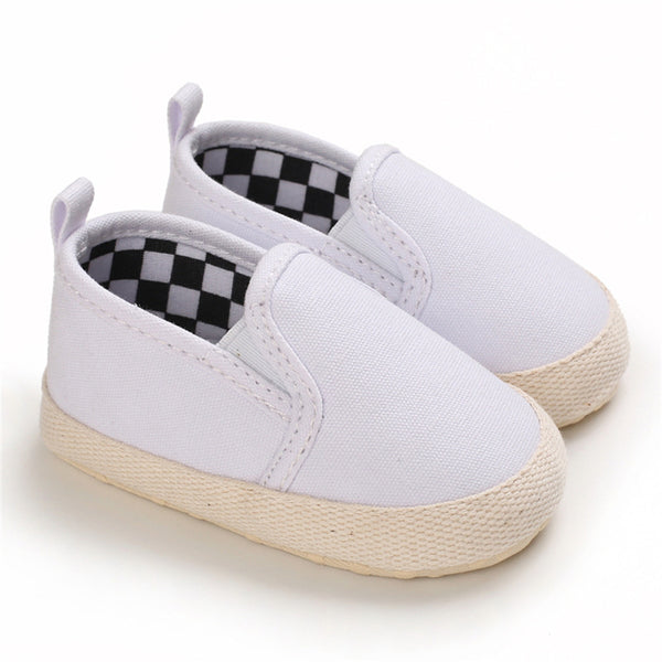 Baby Boys Canvas Slip Ons Casual Loafers Kids Shoes Wholesale Suppliers