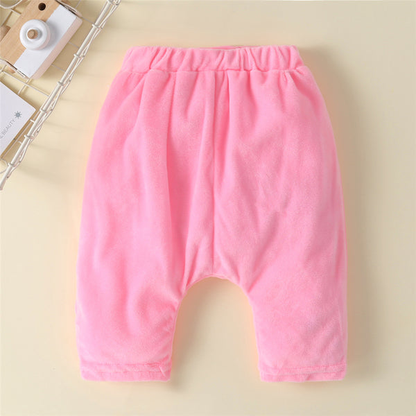 Baby Unisex Cartoon 3D Warm Bottoms Wholesale Baby Pants