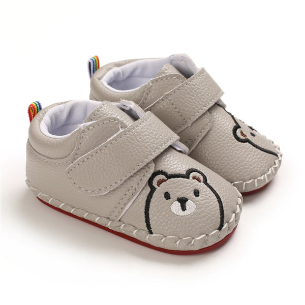 Baby Unisex Cartoon Bear Infant Shoes Wholesale Children Shoes