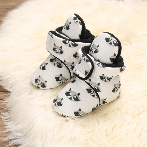 Baby Boys Cartoon Casual Warm Boots Wholesale Baby Shoes Suppliers