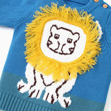 Baby Boys Cartoon Lion Pullover Sweaters Baby Wholesales