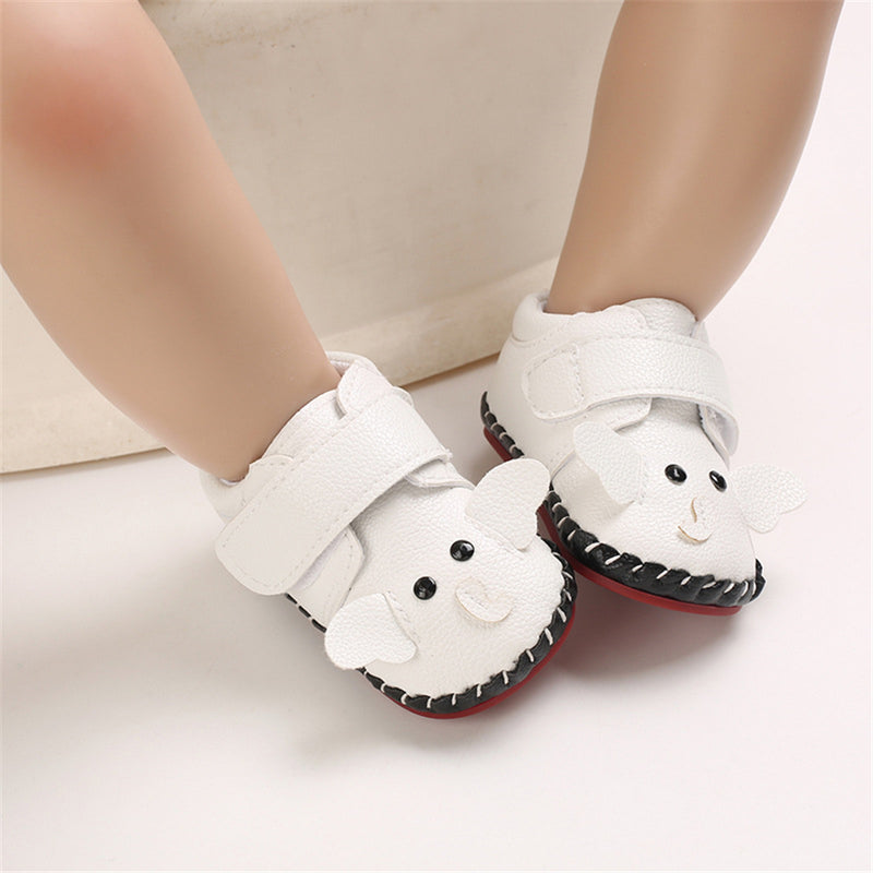 Baby Boys Cartoon Magic Tape Flats Wholesale Baby Shoes Suppliers