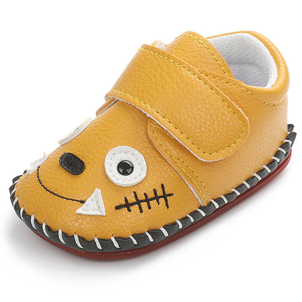 Baby Unisex Cartoon Magic Tape Shoes