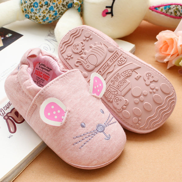 Baby Cartoon Non-slip Toddler Flats Shoes
