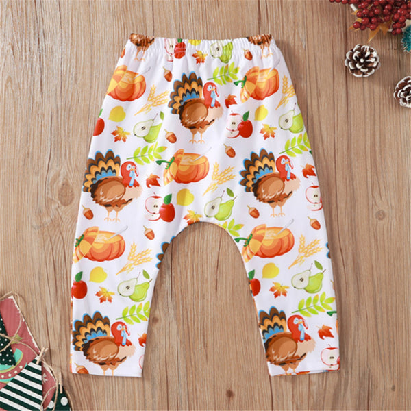 Baby Unisex Cartoon Printed Pants Toddler Leggings Wholesale