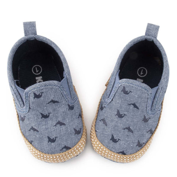 Baby Unisex Cartoon Printed Slip Ons Casual Flats Wholesale Baby Shoes